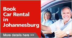 Book Car Rental in Johannesburg