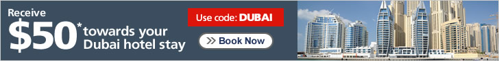 50 towards your Dubai hotel stay