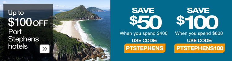 Webjet Port Stephens Hotels