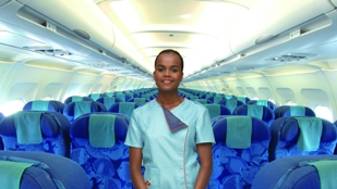 Aircalin flight attendant
