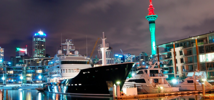 Auckland Harbour and City Skyline
