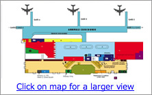 Cairns Airport Terminal Map