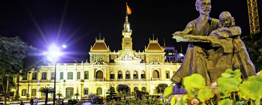 Ho Chi Minh city hall, Vietnam