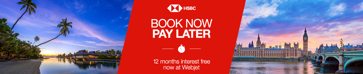 HSBC Interest Free - Webjet