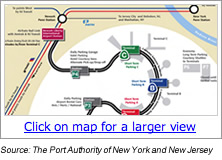 Newark Airport Terminal Map