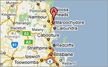 Sunshine Coast Airport Map