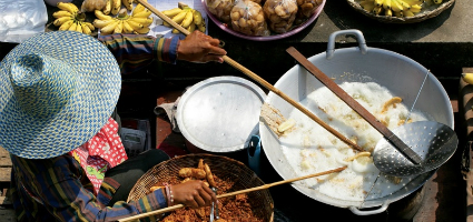 Various cuisine dishes, Thailand